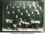 Big Ten undefeated champions yearbook portrait, The University of Iowa, 1900