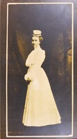 1902 Student nurse in early uniform