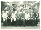 Biology department faculty and graduate students, The University of Iowa, 1958