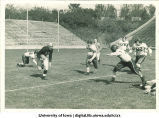 Iowa-Indiana football game, The University of Iowa, October 16, 1943