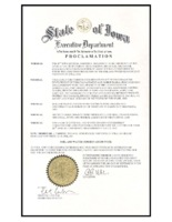 Proclamation for Soil Conservation Week in 2006