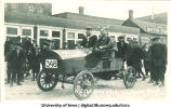 Auto in Mecca Day parade, The University of Iowa, 1914