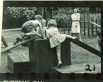 Children playing at preschool, The University of Iowa, 1920s