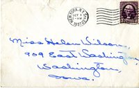 Envelope postmarked form New York N.Y. Sta. G2