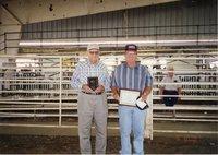 1997  - Dwight and J.D. Strucker - Soil conservation winners