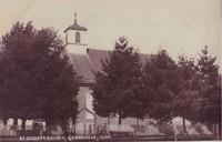 St. Joseph's Catholic Church in Garnavillo, Iowa -1900s