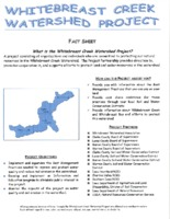 Whitebreast Creek Watershed Project fact sheet
