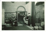 Students studying in Iowa Memorial Union library, the University of Iowa, March 25, 1932