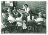 Reading class, The University of Iowa elementary school, 1960