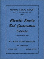 Cherokee County Soil Conservation District Annual Report - 1965