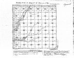 Iowa land survey map of t092n, r047w