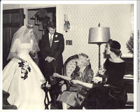 Frindy, John, Cornelia and unknown woman chatting in parlor