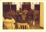Music practice for Scottish Highlanders, The University of Iowa, 1970s