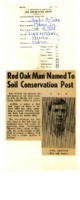 Red Oak man named to soil conservation post.