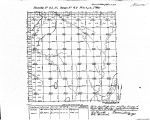 Iowa land survey map of t085n, r042w