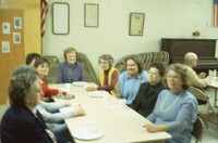 Quimby Federated Women's Group meeting.