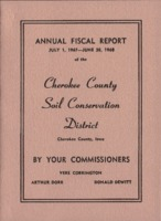 Cherokee County Soil Conservation District Annual Report - 1968