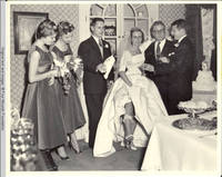 The removal of the garter belt in the dining room