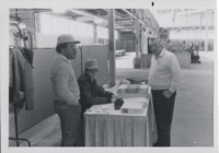 Hal Crosby and Arlo Esperson Man the Warren County SWCD Booth.