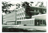 Pharmacy Building viewed from northeast, The University of Iowa, 1960s?