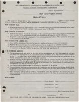 First Cooperative Agreement - 1944.