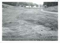 Harold Shold inspecting Marshall farm, 1967