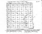 Iowa land survey map of t083n, r034w