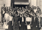 Library staff, 1952