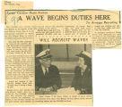 WAVE begins duties here