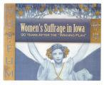 Women's suffrage in Iowa 90 years after the winning plan, 2009