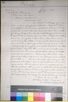 73. Iowa Adj. Gen. Nathaniel B. Baker to Lincoln on appointment of Capt. Benjamin F. Reno as Quartermaster