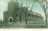 Armory south and east facades, the University of Iowa, 1910s