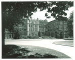 East view of the New Medical Laboratories Building, the University of Iowa, 1920s