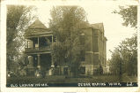 Old Ladies' Home, Cedar Rapids, Iowa, February 7, 1911