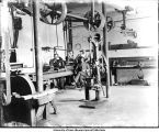 Old Engineering Shop, Calvin Hall, The University of Iowa, 1900s