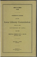 19. Nineteenth Report of the Iowa Library Commission