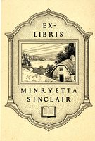 Minryetta Sinclair Bookplate