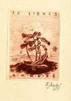 A. Kodes Bookplate