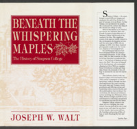 Beneath the whispering maples: the history of Simpson College