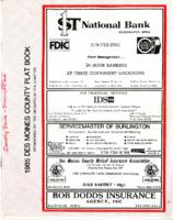 1985 Des Moines County Plat Book