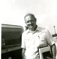 Man in Front of Truck
