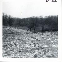 Diversion dam on Richard Eggers farm, 1968