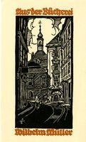 Wilhelm Miller Bookplate