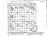 Iowa land survey map of t089n, r031w