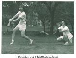 Batting, The University of Iowa, 1930s