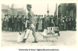 Engineers' parade, The University of Iowa, 1910s
