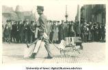 Engineers' parade, The University of Iowa, 1910s