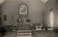 Evangelical Lutheran Church of Peace in Clayton, Iowa -Interior