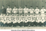 Iowa baseball team, The University of Iowa, 1924