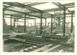 Jefferson Building construction, the University of Iowa, 1920s?